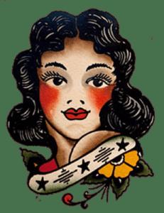 Flash sailor jerry pun up tattoo